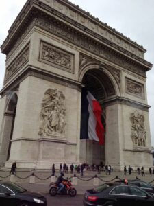 Places to Propose in Paris - The Arc De Triumphe