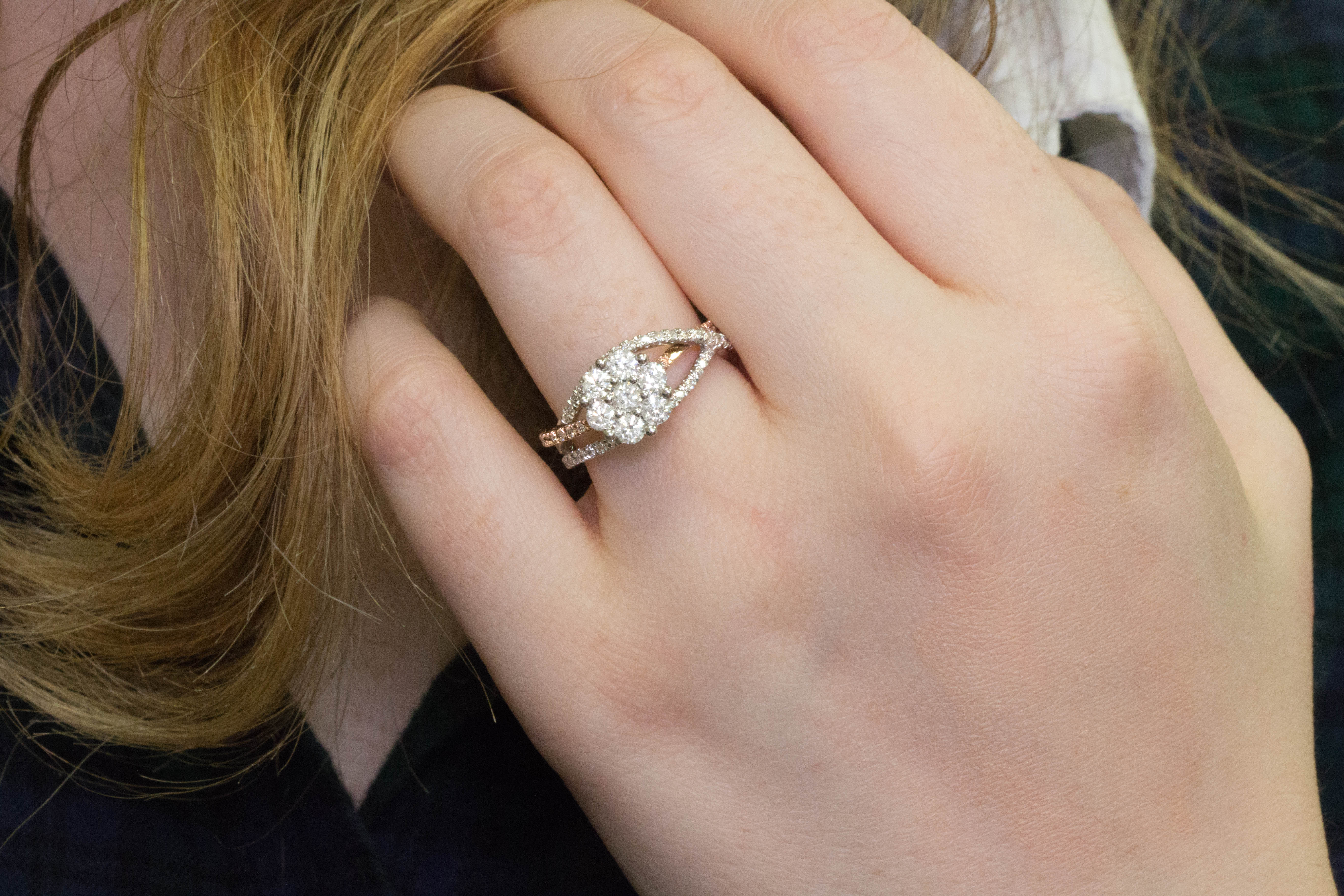 Historic significance of a diamond engagement ring