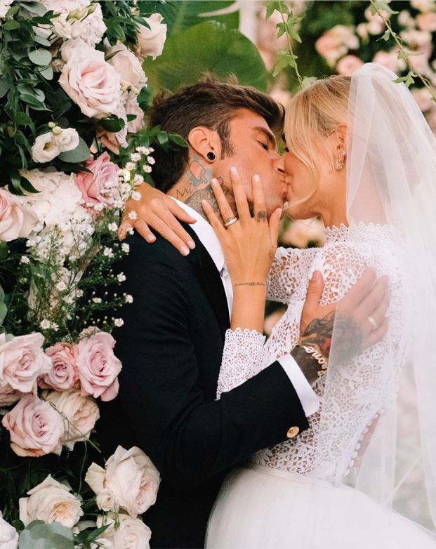 chiara ferragni and fedez matching wedding bands
