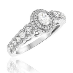 Julian collection engagement ring by my trio rings