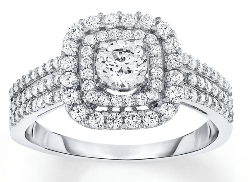 Kays 1 carat diamond engagement ring