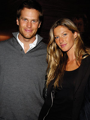Tom Brady and Gisele Bundchen 2009