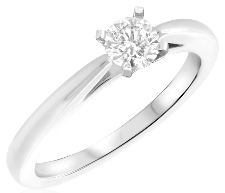 my trio rings half carat diamond engagement ring