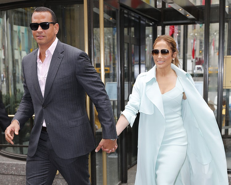 Jennifer Lopez & Alex Rodriguez are engaged steal this style by my trio rings