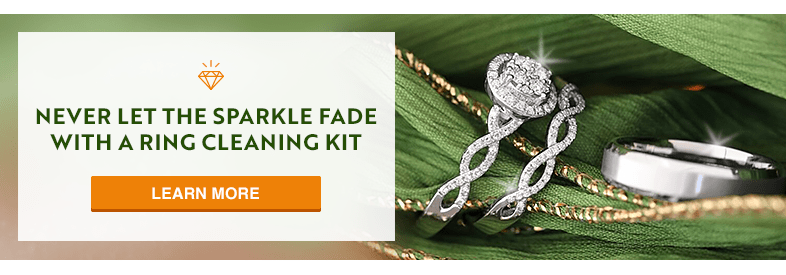 Never Let the Sparkle Fade with a Ring Cleaning Kit for My Trio Rings. Learn More.