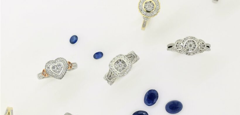 Blue Sapphires and Ethereal Engagement Rings by My Trio Rings