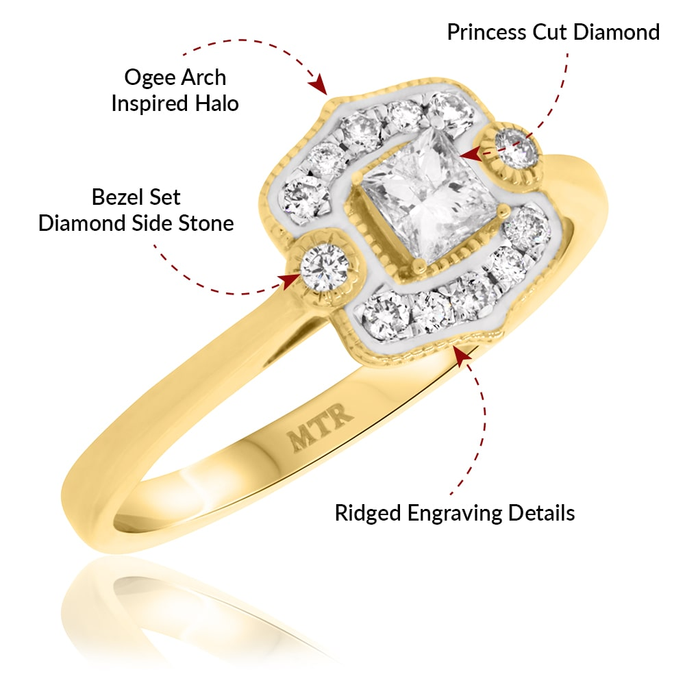 Yasmie Engagement Ring Features