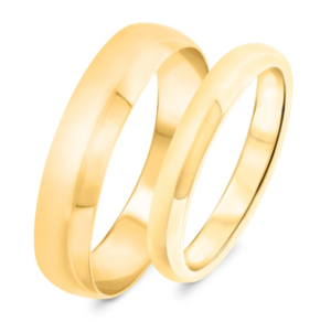 1 year anniversary gold band from my trio rings