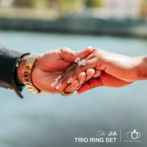The jia Trio Ring Set by My Trio Rings