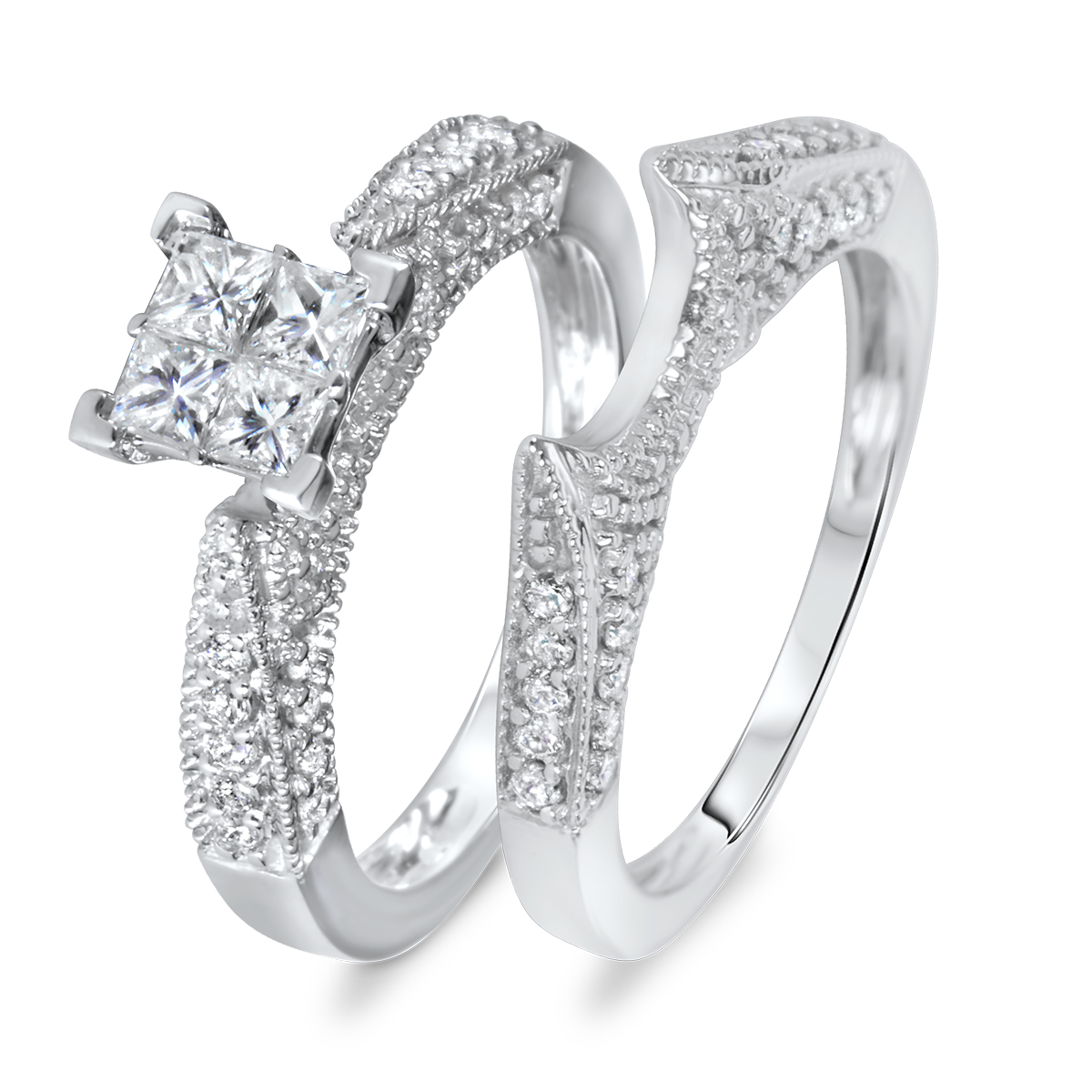 customizable engagement rings, customizable bridal ring sets