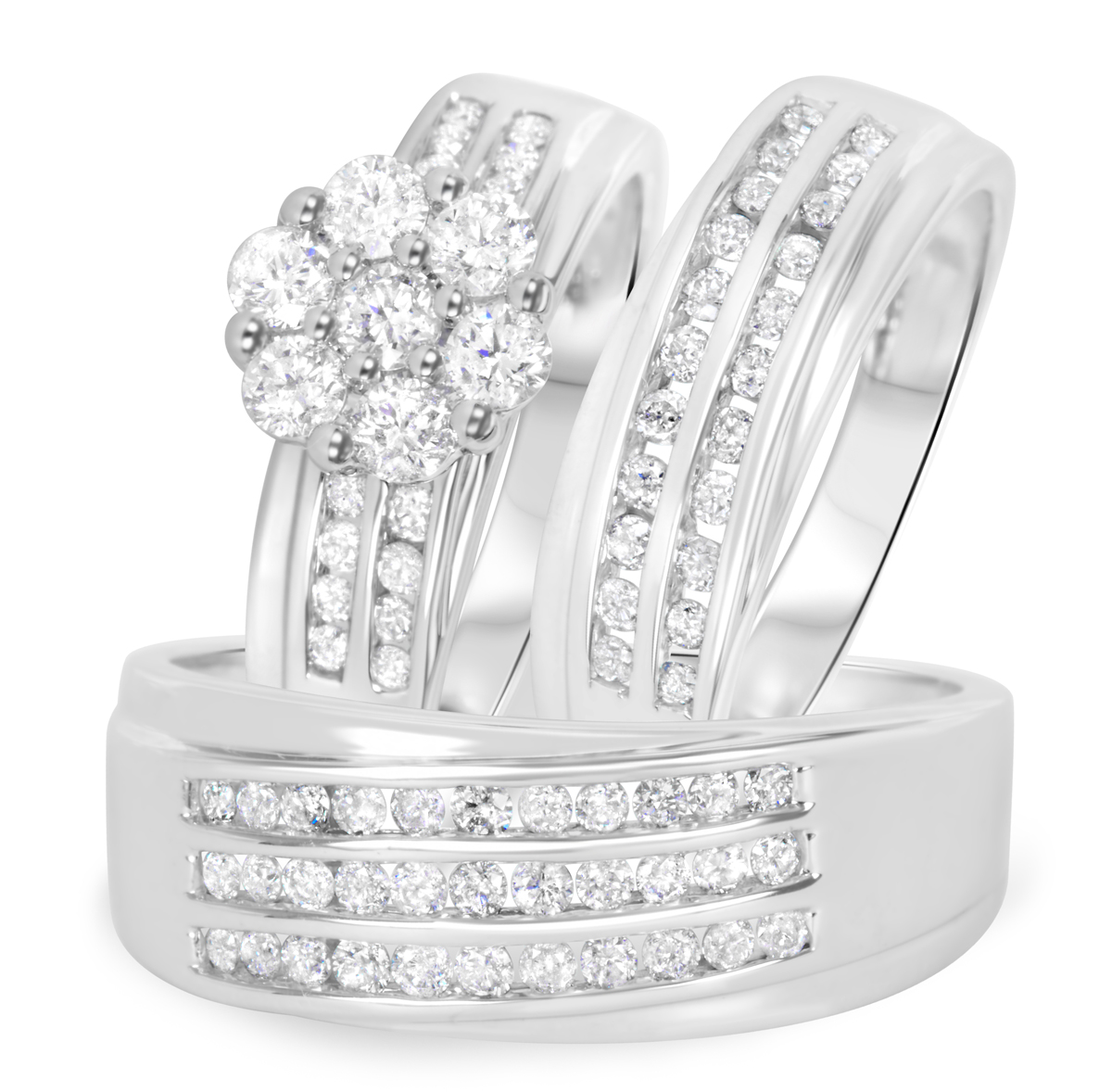 Style bt511w10k for Matching white gold wedding rings