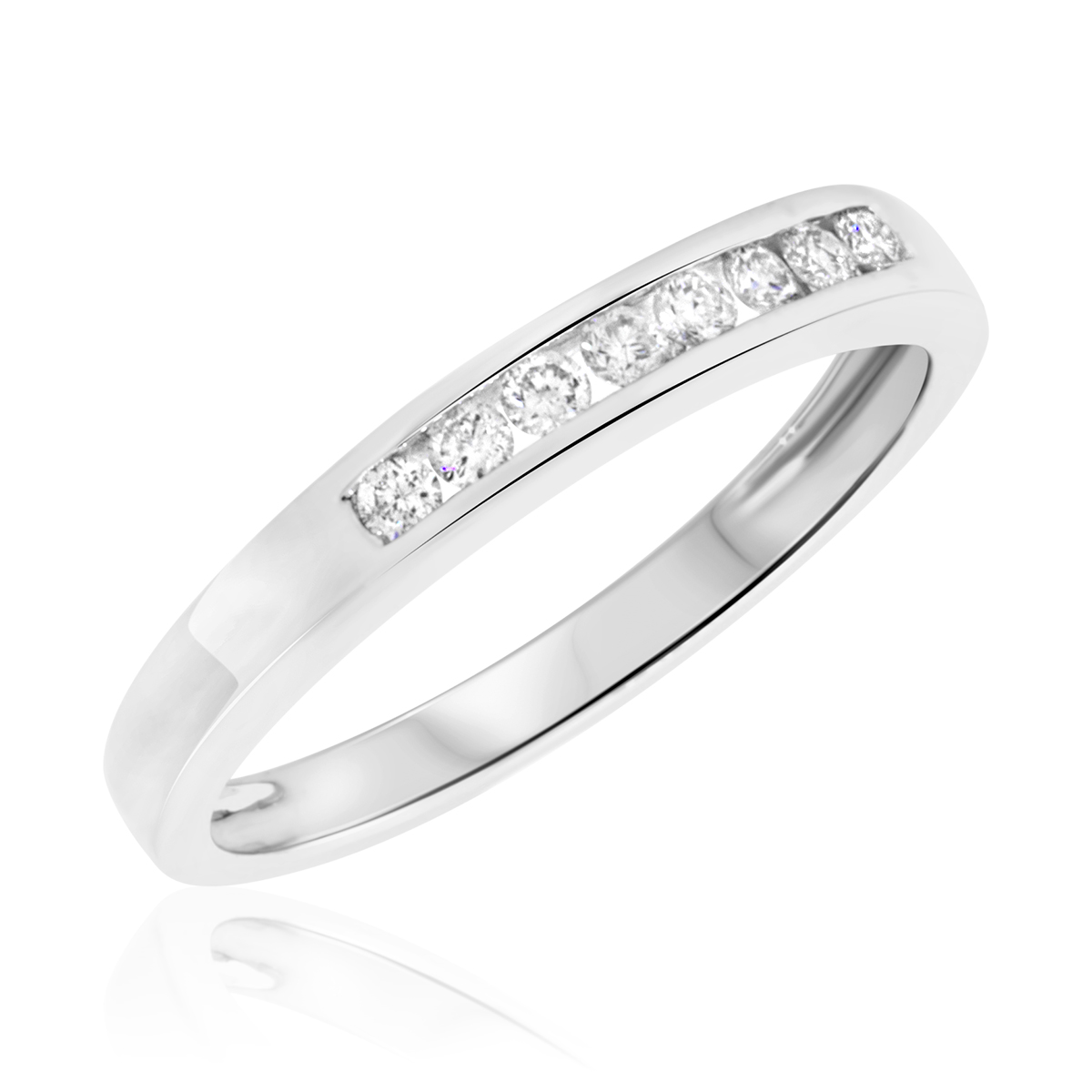 comfort fit wedding ring in 14k white gold 2mm white gold wedding band 2mm Comfort Fit Wedding Band in 14k White Gold