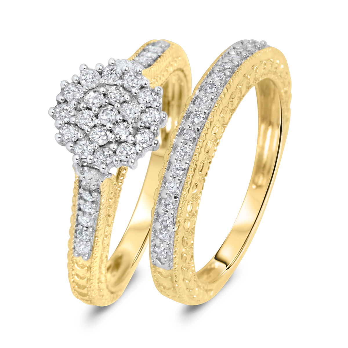 engagement rings wedding rings under Starburst Collection 18ct gold 0 50 carat round brilliant diamond ring