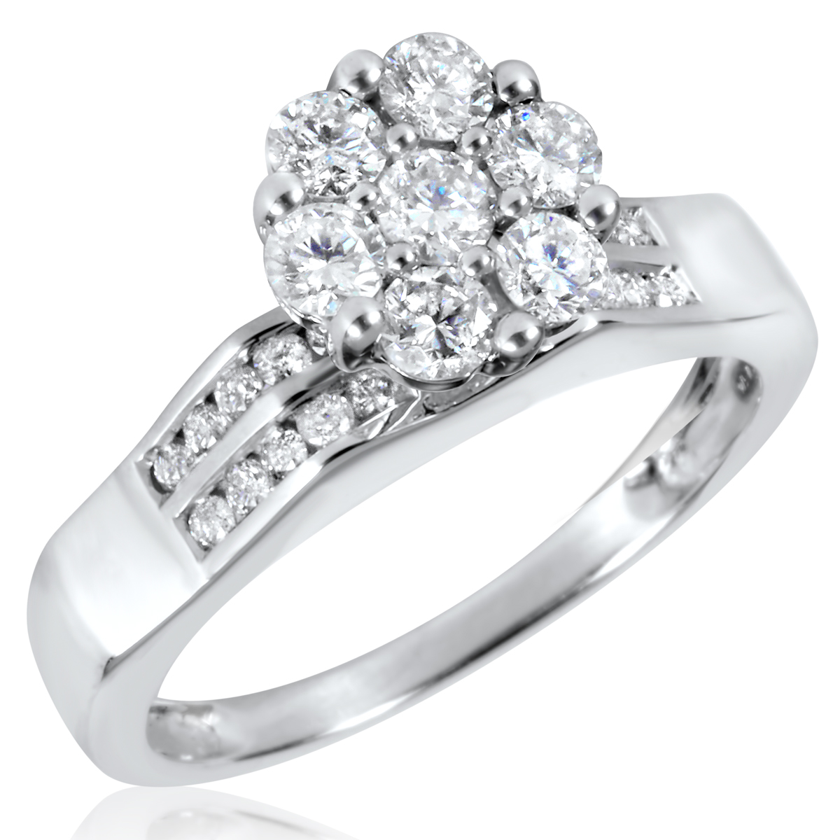 1 1 2 ct t w engagement ring wedding