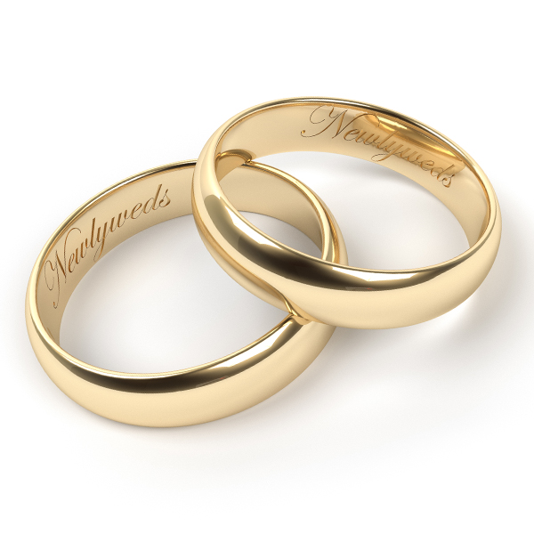Ring engraving service products and services my trio rings for Engravings on wedding rings