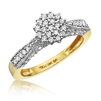 composite engagement rings are all the rage right now dont know what composite engagement rings are the term is used to describe rings with cluster - Used Wedding Rings
