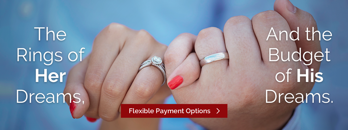 My Trio Rings Flexible Payment Options Banner