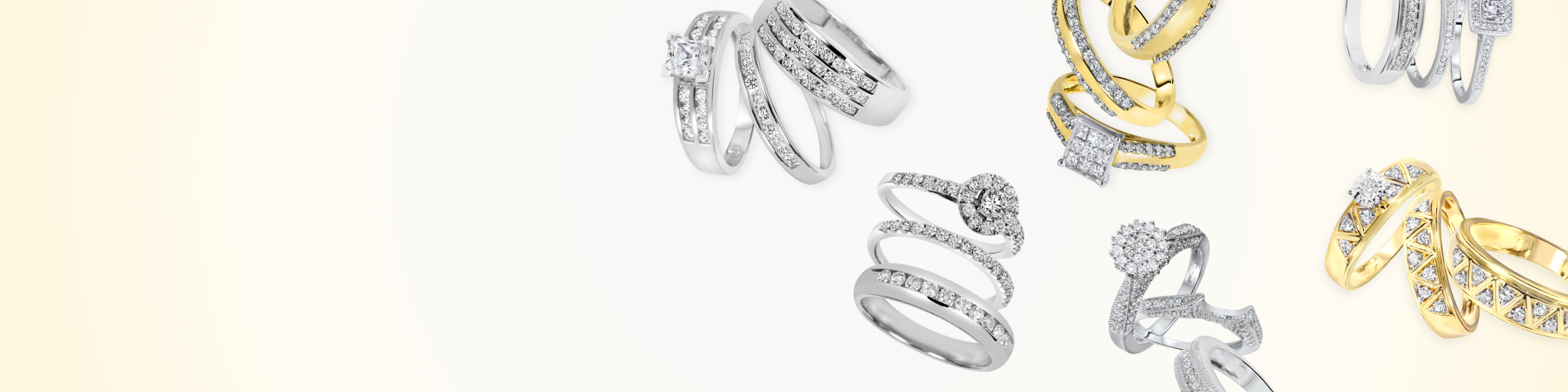 Affordable Trio Ring Sets