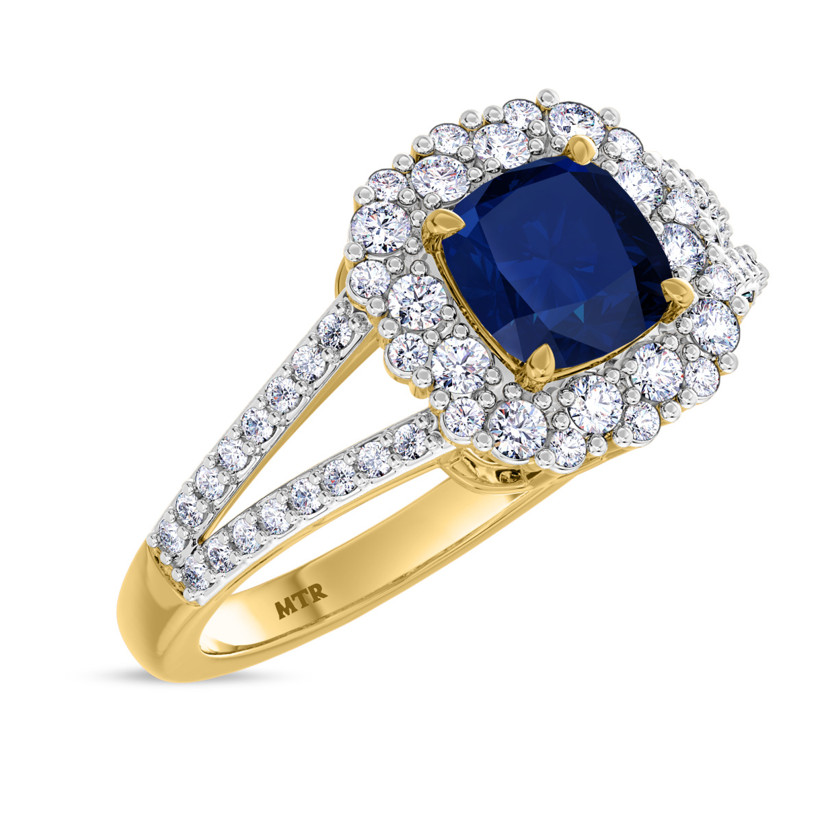 1/7 CT. T.W. Diamond Engagement Ring 10K Yellow Gold
