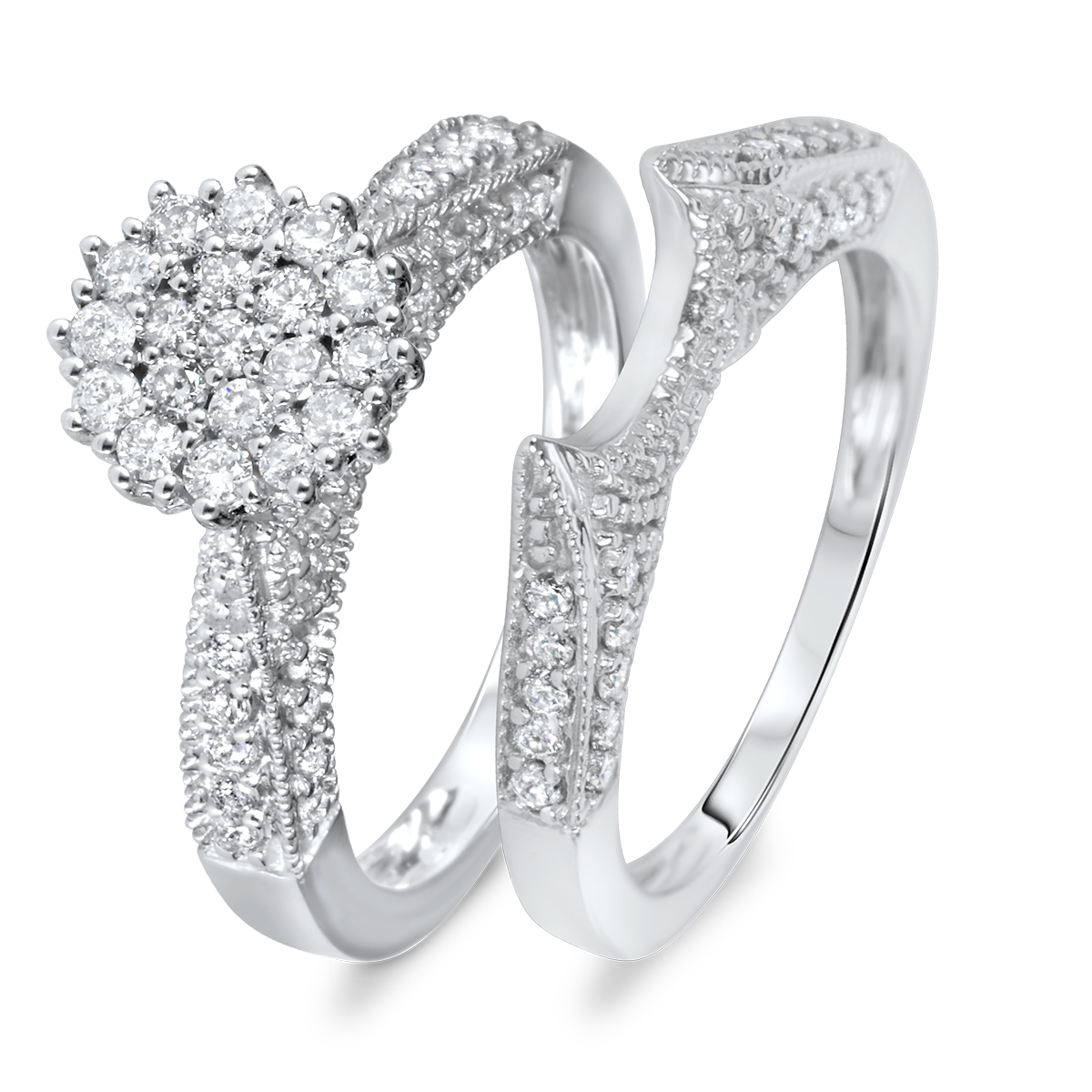 with for a side wedding women and anniversary diamong rings stones diamond engagement