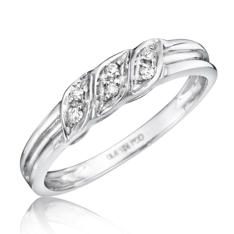 bt133w10kl - Womens Wedding Ring