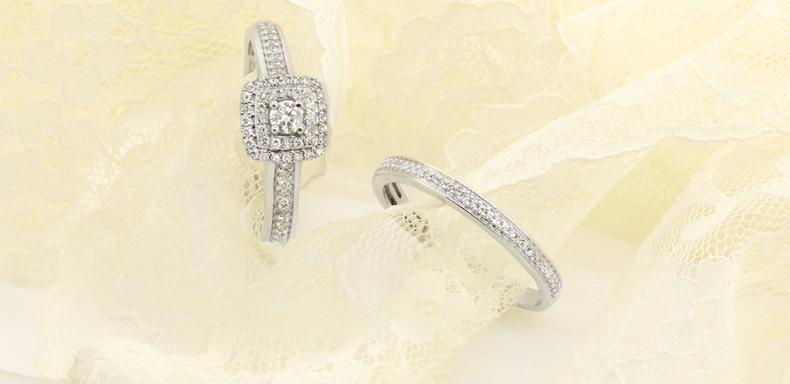 Bridal Rings My Trio Rings Full Brilliance • Plus Size