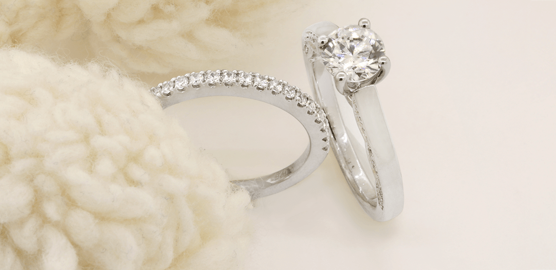 Bridal Rings My Trio Rings SOLITAIRE