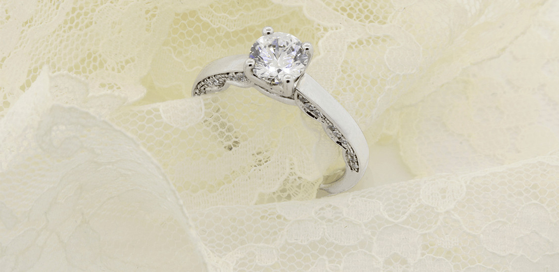 Engagement Rings My Trio Rings Solitaire