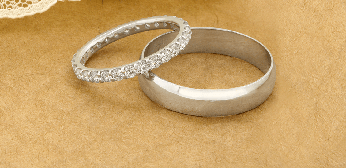 Wedding Band Sets My Trio Rings Classic