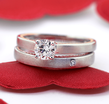 Solitaire Diamond Collection-Bridal Rings