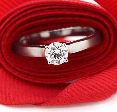 Lucky #3 Sale Engagement Rings