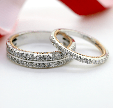 Lucky #3 Sale Wedding Band Sets