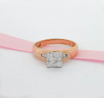 Ring on ribbon Kindred Collection