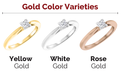 Gold Color Varietes