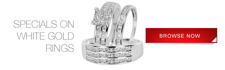 Specials on White Gold Rings