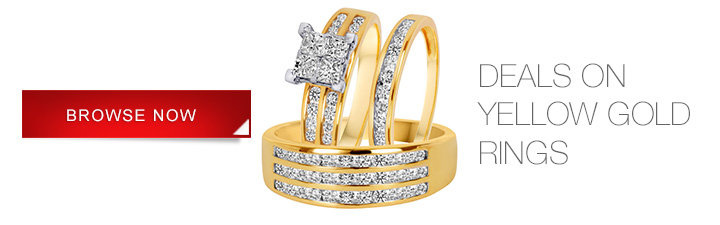 Specials on Yellow Gold Rings
